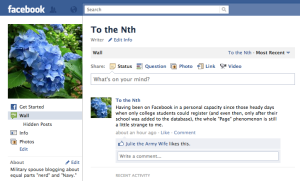 To the Nth Facebook Page