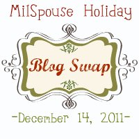 Milspouse Holiday Blog Swap 2011