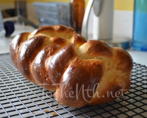 Four-stranded Challah