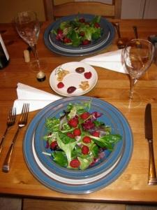 Tu BiShvat meal, 2010