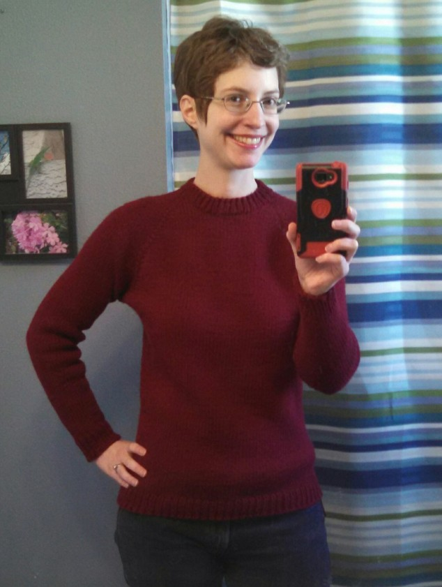 Completed Sweater